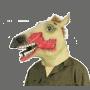 masque cheval zombi