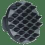 etrille caoutchou noire - kerbl